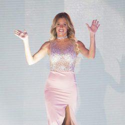 Paola Caruso en el debate final de 'Supervivientes 2017'