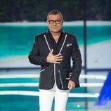 Jorge Javier Vázquez en el debate final de 'Supervivientes 2017'