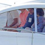 El Rey Felipe, la Reina Sofía y Froilán salen a navegar en Malllorca