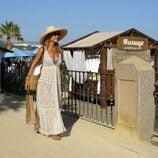 Carmen Lomana, de vacaciones en Marbella
