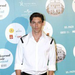 Adrián Lastra en el concierto de Luis Fonsi en Madrid