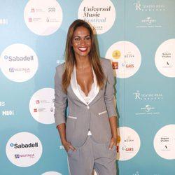 Lara Álvarez acude al concierto de Luis Fonsi en Madrid