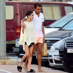 Tini Stoessel y Pepe Barroso mostrándose muy cómplices en Ibiza
