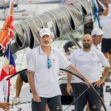 El Rey Felipe VI en la segunda jornada de regatas en Palma