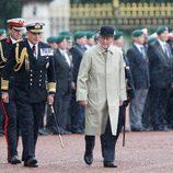 El Duque de Edimburgo en el último acto público