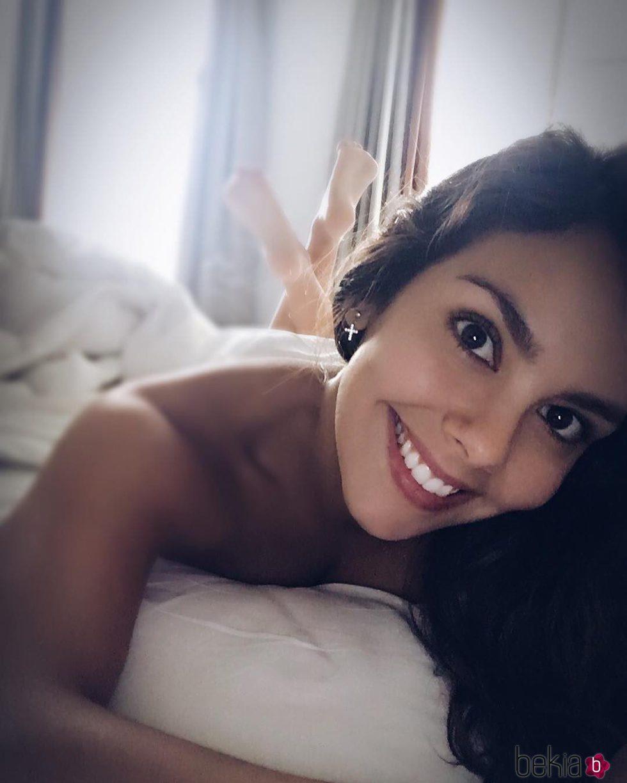 Cristina Pedroche despertándose sexy por las mañanas