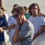 Gelete y Pablo Nieto lloran la pérdida de su padre Ángel Nieto