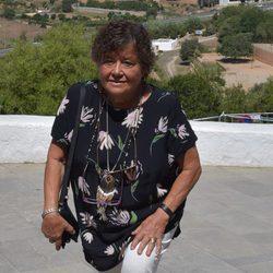 Cristina Almeida acude a la incineración de Ángel Nieto
