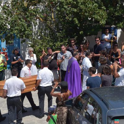 Multitudinario adiós a Ángel Nieto en Ibiza