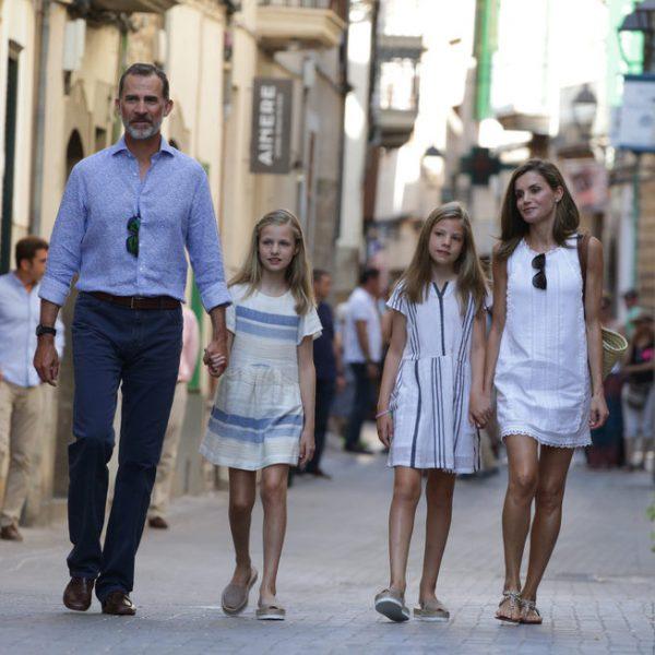 Las vacaciones de la Familia Real en Mallorca 2017
