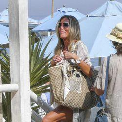 Raquel Bernal disfrutando de sus vacaciones en Marbella