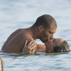 Chloe Green y Jeremy Meeks muy románticos