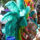 Rihanna presume de alas en su outfit del Carnaval de Barbados 2017