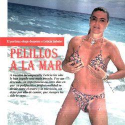 Los 'pelillos a la mar' de Leticia Sabater en Interviú
