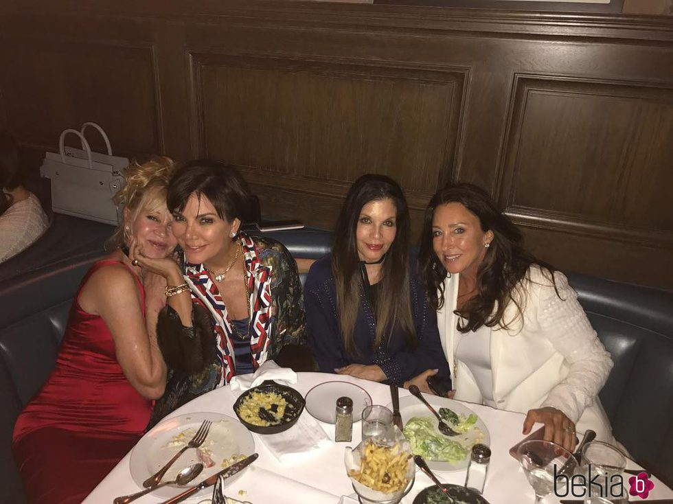 Melanie Griffith celebra su cumpleaños con Kris Jenner y dos amigas más