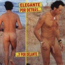 Pipi Estrada desnudo en la revista Sorpresa en el año 2006