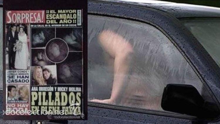 Ana Obregón y Miki Molina cazos teniendo sexo por la revista Sorpresa