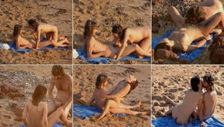 Alberto San Juan cazado en la playa manteniendo relaciones sexuales