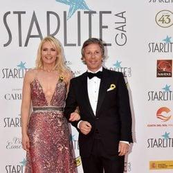 Valeria Mazza y Alejandro Gravier en la Gala Starlite 2017 en Marbella