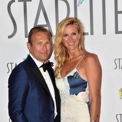 Alejandra Prat y Juan Alcaraz en la Gala Starlite 2017 en Marbella
