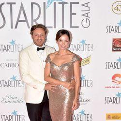 Juan Peña y Sonia González en la Gala Starlite 2017 en Marbella