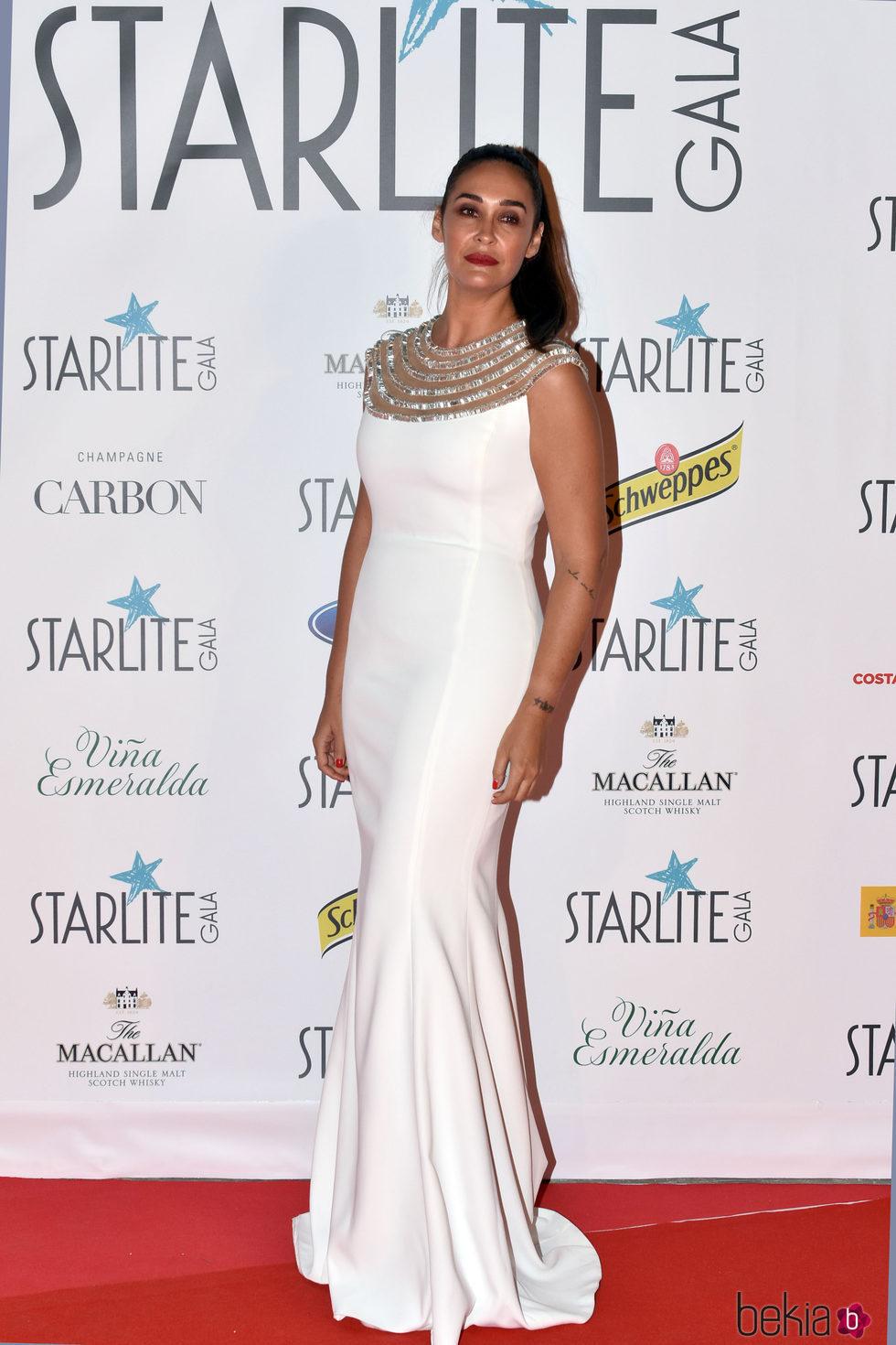 Vicky Martín Berrocal en la Gala Starlite 2017 en Marbella