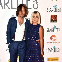 Ana Fernández y Adrián Roma en la Gala Starlite 2017 en Marbella