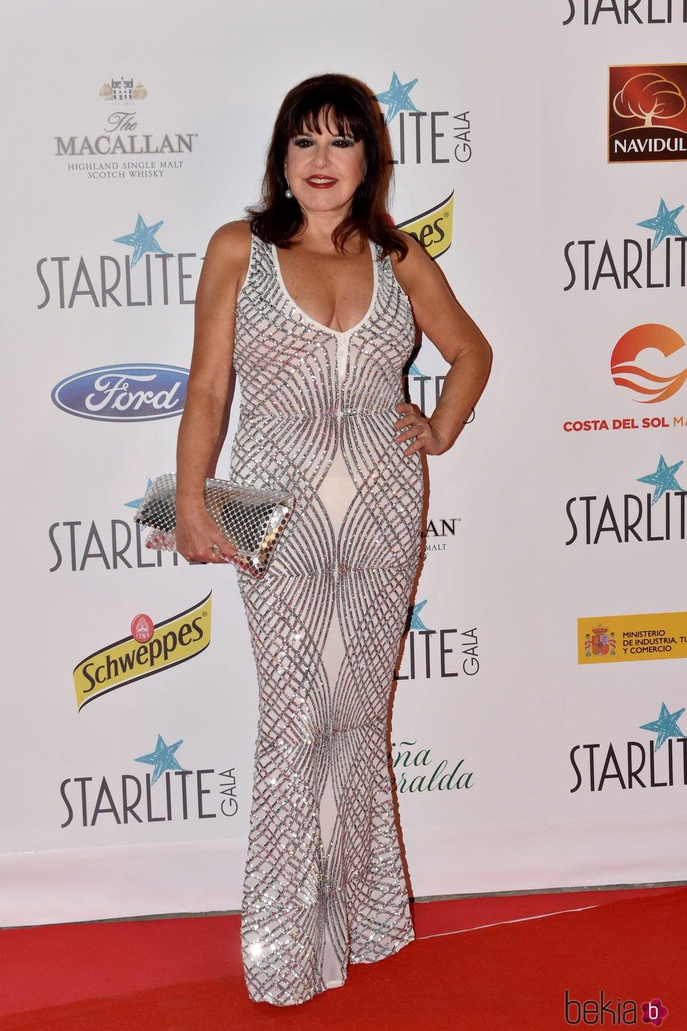 Loles León en la Gala Starlite 2017 en Marbella