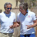 Imanol Arias y Alejandro Gravier en las playas de Marbella