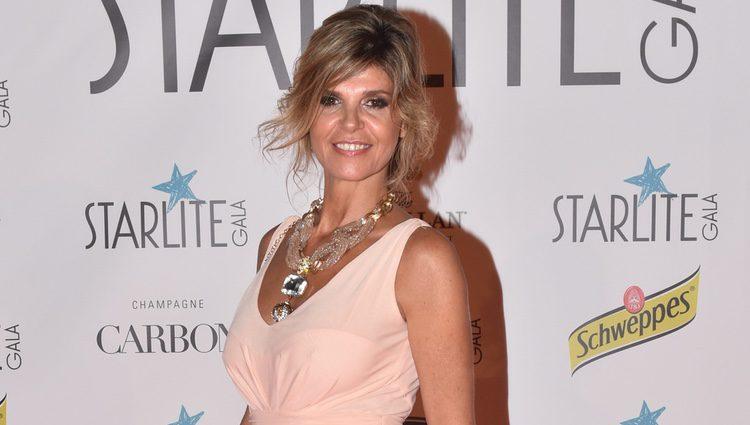 Arancha de Benito en la Gala Starlite 2017 en Marbella