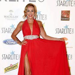 Ana Obregón en la Gala Starlite 2017 en Marbella