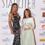 Raquel Bernal y una amiga en la Gala Starlite 2017 en Marbella