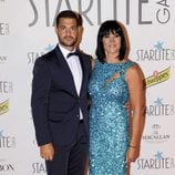 irene Villa y su marido en la Gala Starlite 2017 en Marbella