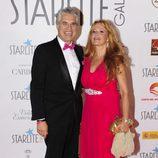 Agustín Bravo y su pareja en la Gala Starlite 2017 en Marbella