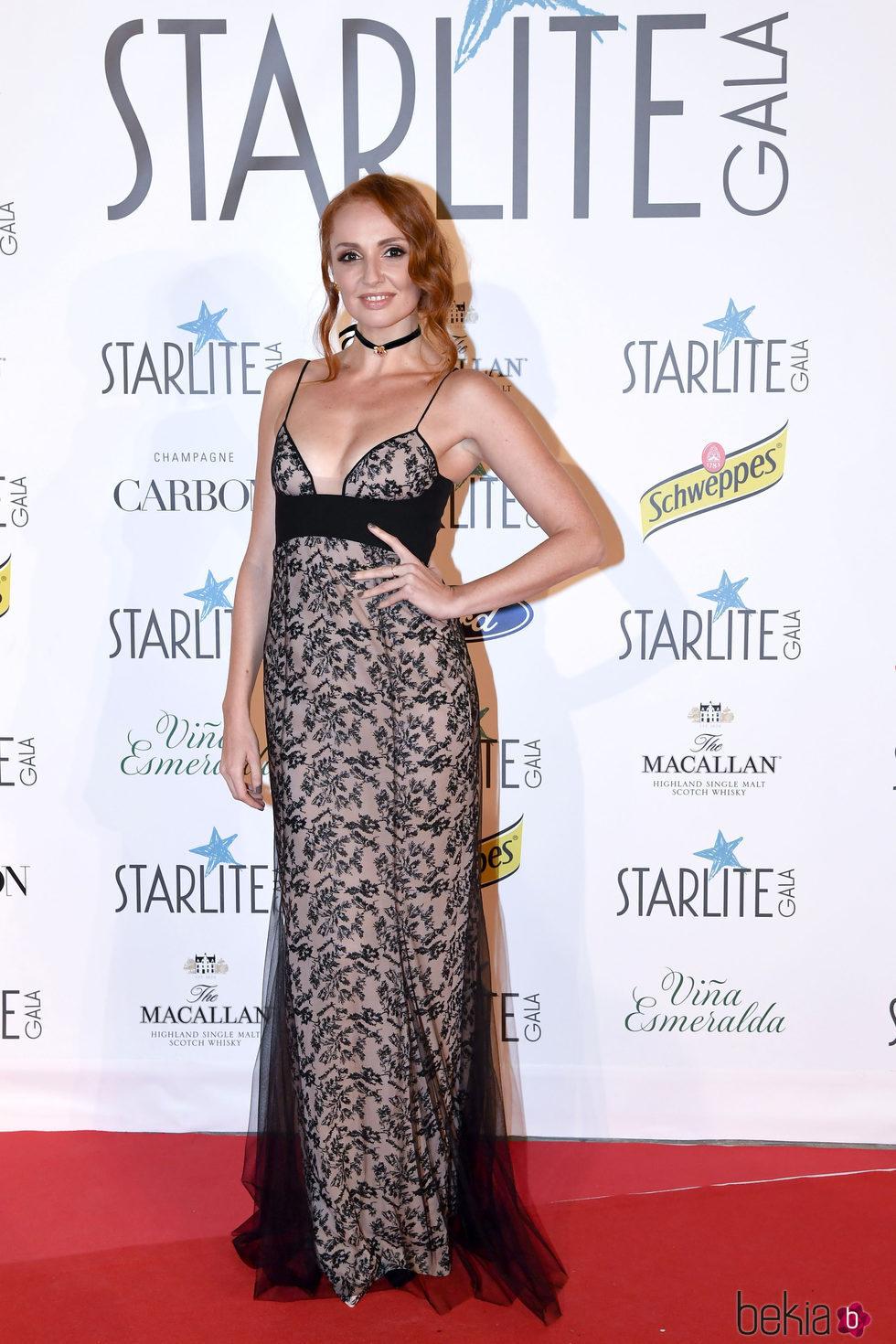 Cristina castaño en la Gala Starlite 2017 en marbella