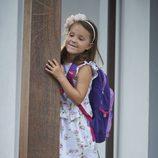 Athena de Dinamarca en su primer día de colegio