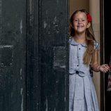 Josefina de Dinamarca en su primer día de colegio