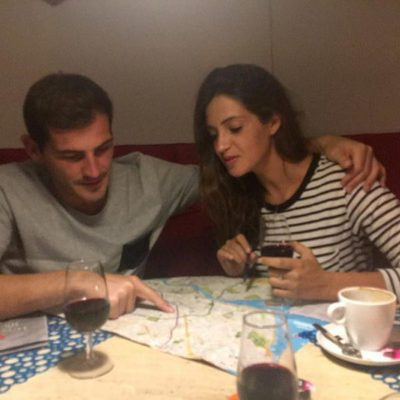 Sara Carbonero e Iker Casillas haciendo de guías turísticos