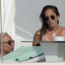 Luis Rollán y Anabel Pantoja disfrutando de sus vacaciones en Ibiza