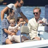 Jennifer Connelly en Formentera con su familia en 2017