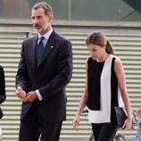 Los Reyes Felipe y Letizia visitan a los heridos del atentado de Barcelona