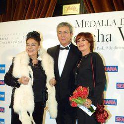 Nati Mistral, Paco Valladares y Concha Velasco