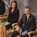 Los Reyes Felipe y Letizia en la Misa por la Paz celebrada tras los atentados de Barcelona y Cambrils