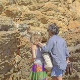 Narcís Rebollo y Eugenia Martínez de Irujo de vacaciones en Ibiza