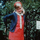 Lady Di cuando era niña