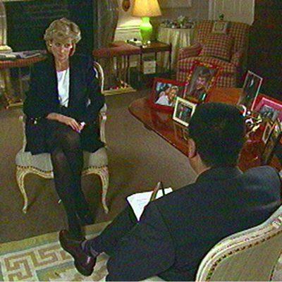 Lady Di en su escandalosa entrevista en televisión