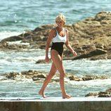 Lady Di en bañador en el último verano de su vida