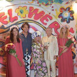 Álvaro de Marichalar en la fiesta 'Flower Power Pacha Ibiza' 2017