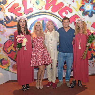 Cayetana Guillén Cuervo en la fiesta 'Flower Power Pacha Ibiza' 2017