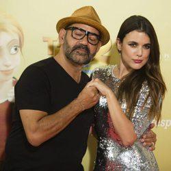 Adriana Ugarte y José Corbacho en el estreno de 'Tadeo Jones 2'